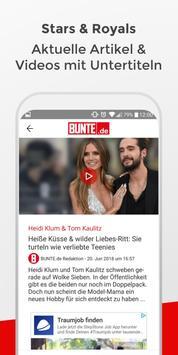 BUNTE.de screenshot 2