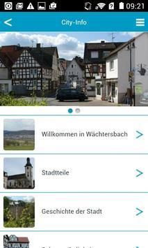 Wächtersbach apk screenshot