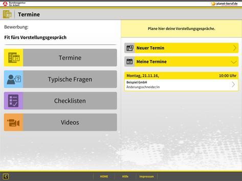 bewerbung vorstellungsgesprch apk screenshot - Bewerbung Vorstellungsgesprach