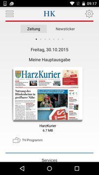 HarzKurier E-Paper poster
