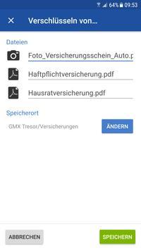 GMX Tresor screenshot 3