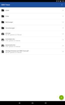 GMX Tresor screenshot 5