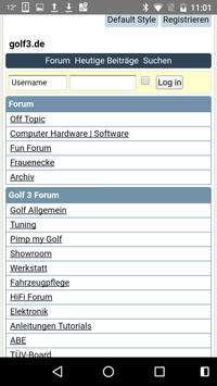 Golf III Forum apk screenshot