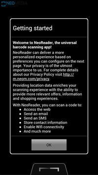 NeoReader QR & Barcode Scanner poster