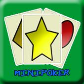 MINI POKER (free) for tablet icon