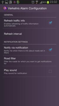 Verkehrs Alarm apk screenshot