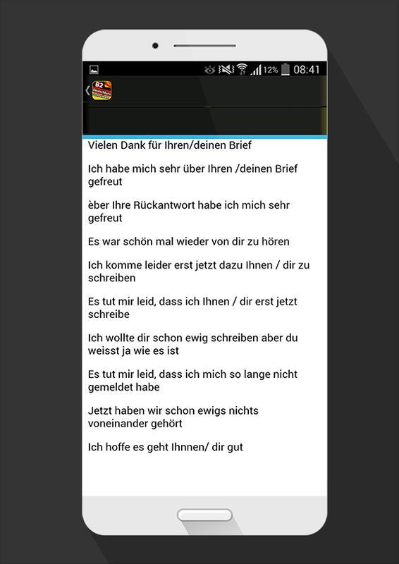 Deutschkurs Schreiben B2 üben для андроид скачать Apk