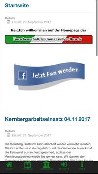 Burschenschaft Teutonia Buseck 1925 e.V. poster