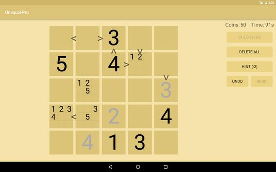 Unequal apk screenshot