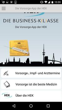 Die Vorsorge-App der HEK screenshot 1