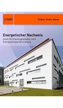 Hebel EnEV Nichtwohnbau poster
