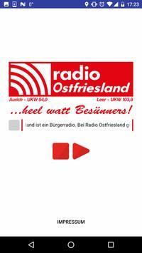 Radio - Ostfriesland poster