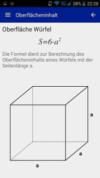 Formelsammlung Mathematik poster