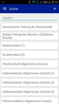 Formelsammlung Mathematik apk screenshot