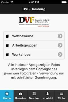 DVF Hamburg poster