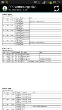 PPCVertretungsplan screenshot 1
