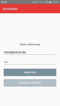 Minol e-Monitoring poster