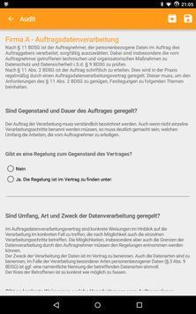Datenschutz-Audit screenshot 1