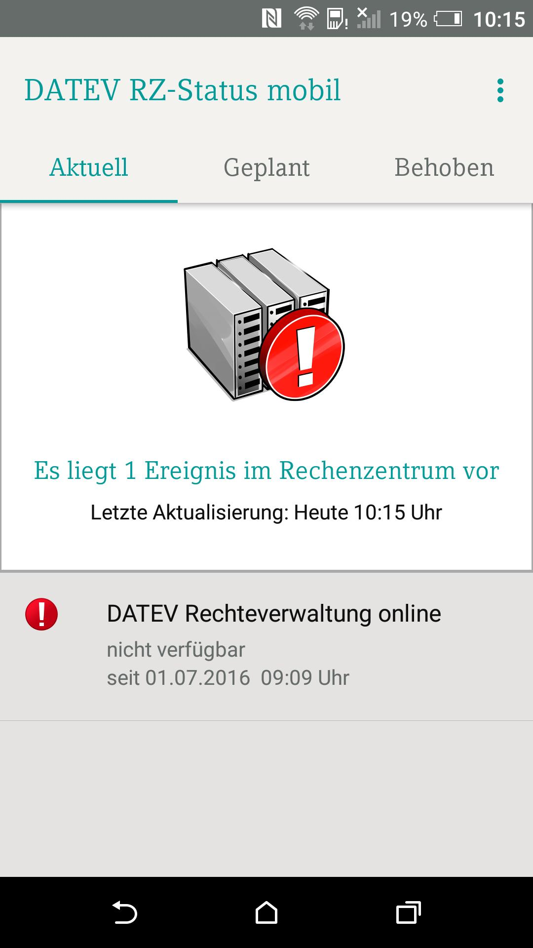 Datev Rz Status Mobil For Android Apk Download