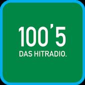100'5 DAS HITRADIO icon