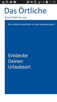 Weserbergland-App poster