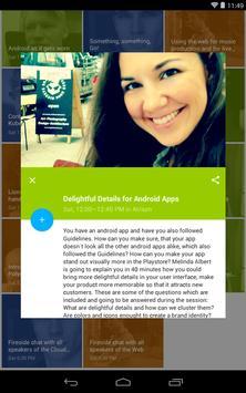 DevFest Berlin 2014 apk screenshot