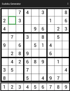 Sudoku Generator screenshot 8