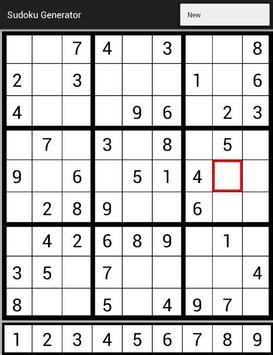 Sudoku Generator screenshot 9