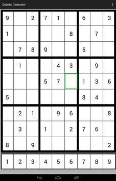 Sudoku Generator screenshot 6