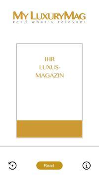 My Luxury Magazine poster