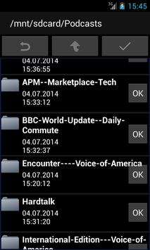 mp3podPlay lite Podcast Player screenshot 1