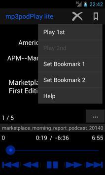 mp3podPlay lite Podcast Player screenshot 4