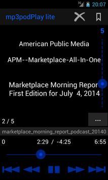 mp3podPlay lite Podcast Player screenshot 6