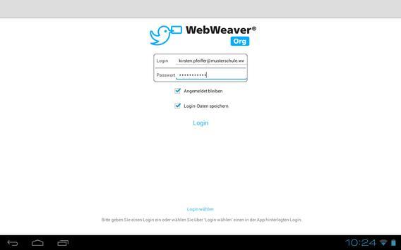 WebWeaver apk screenshot