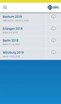 DPG Spring Meetings screenshot 1