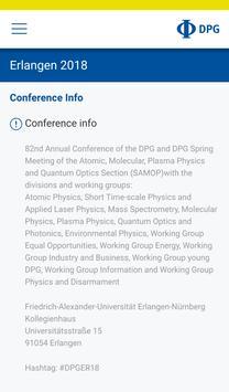 DPG Spring Meetings screenshot 7