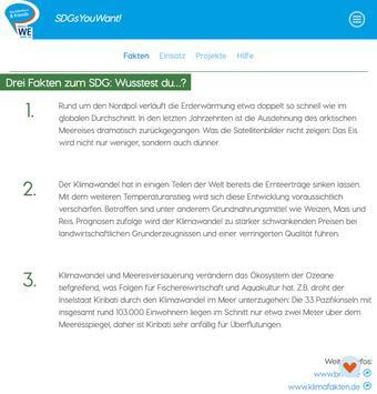 SDGsYouWant! screenshot 11