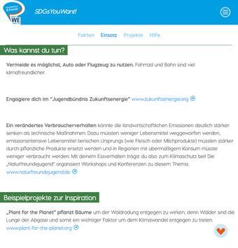 SDGsYouWant! screenshot 12
