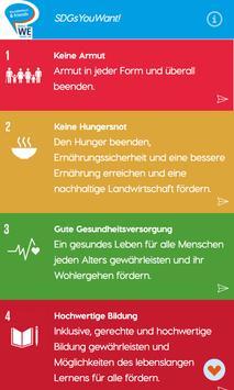 SDGsYouWant! screenshot 1