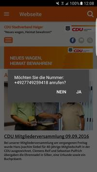 CDU Stadtverband Haiger apk screenshot