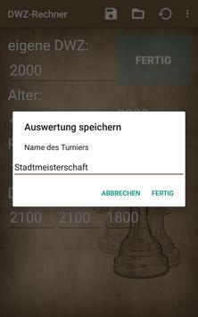 DWZ-Rechner screenshot 1