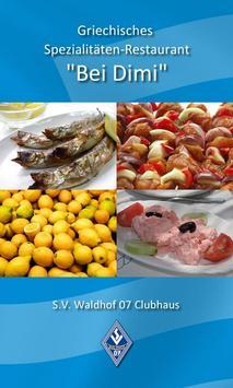 """Restaurant """"Bei Dimi"""" poster"""