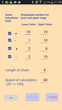 Chain Calculation poster