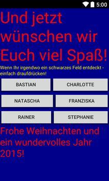 RitterburgerWeihnachtsapp poster