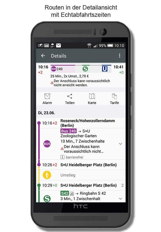 Bvg fahrinfo plus for android apk download.