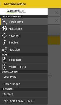 MittelrheinBahn Info & Ticket poster