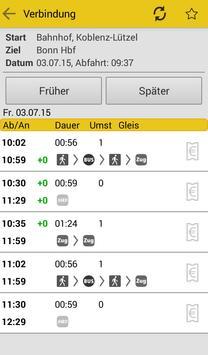 MittelrheinBahn Info & Ticket screenshot 1