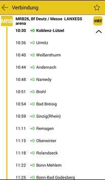MittelrheinBahn Info & Ticket screenshot 2