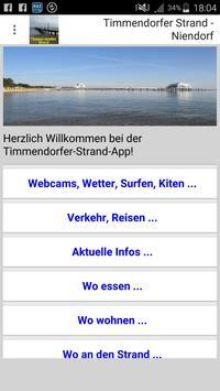 Timmendorfer Strand - Niendorf App für den Urlaub poster