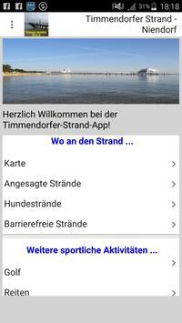 Timmendorfer Strand - Niendorf App für den Urlaub apk screenshot